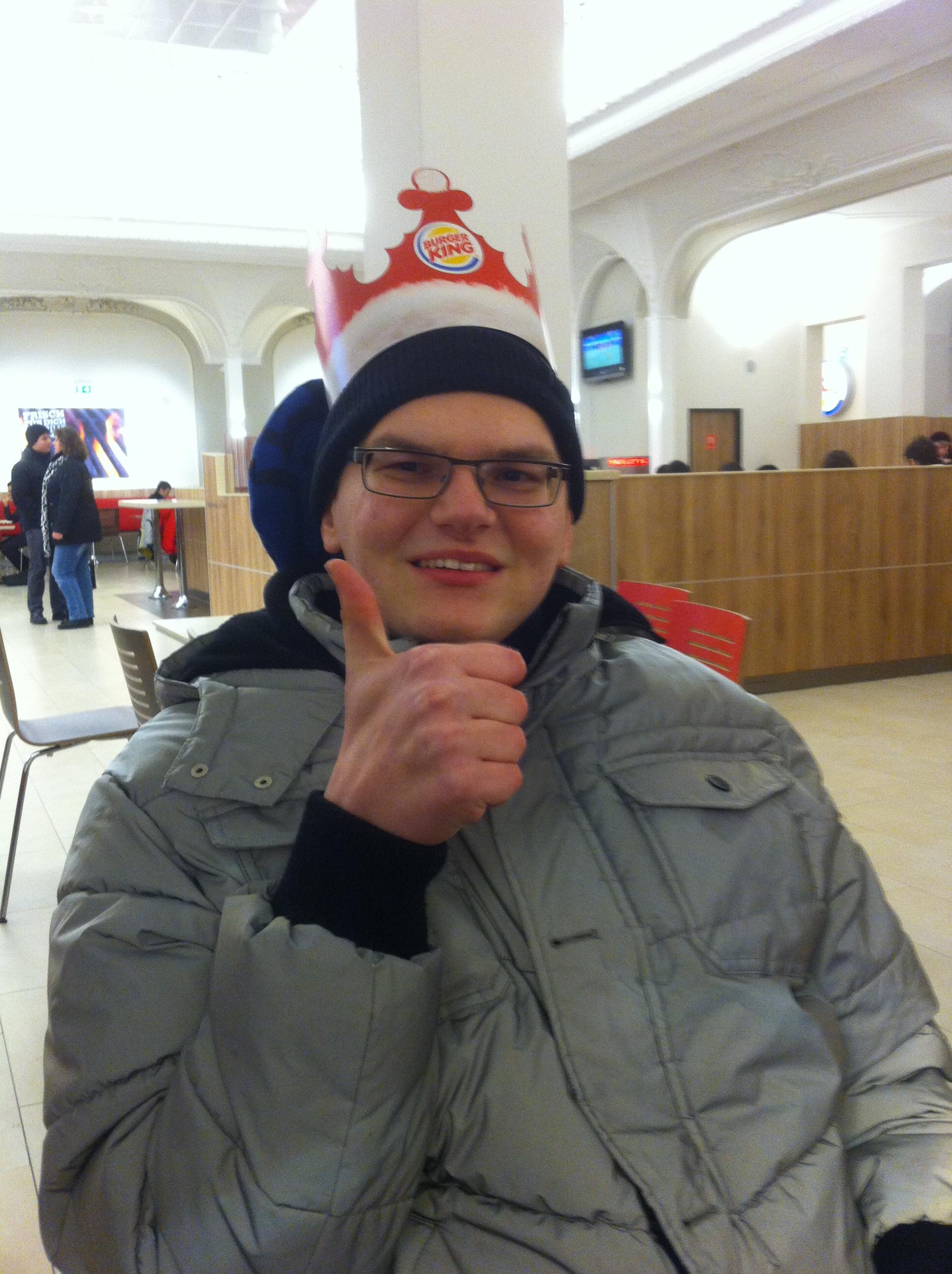 Marcell mit Krone