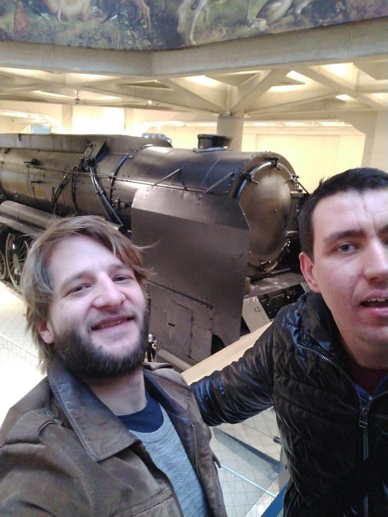 Simon und Dominik  - unsere Selfie-Kings!