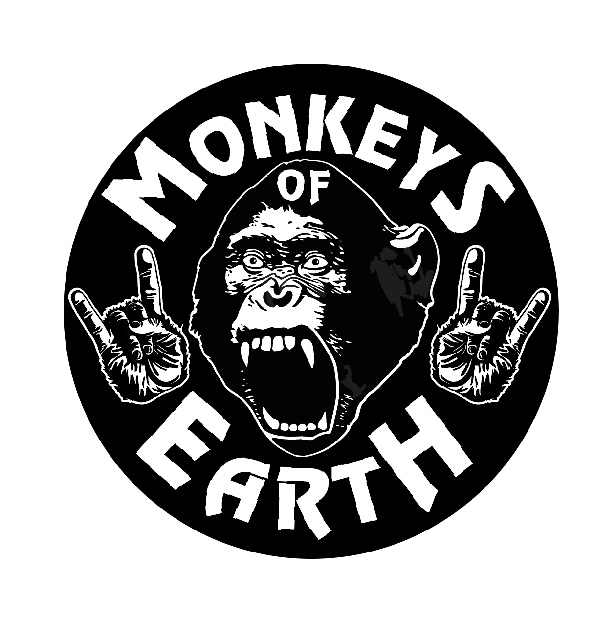 Logo der Band Monkeys of Earth